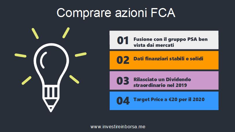 comprare azioni FCA