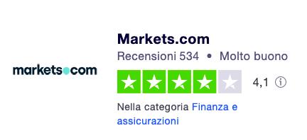 markets broker trading online opinioni e recensioni