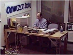 Jeff Bezos ufficio