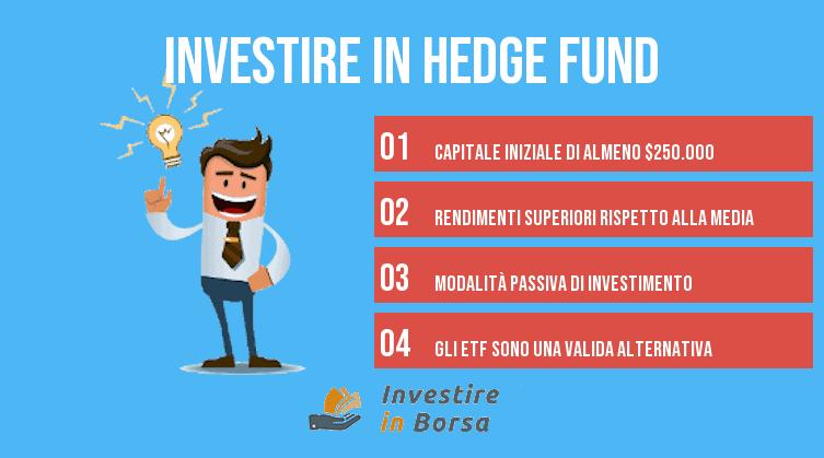 come investire in hedge fund