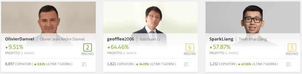 comprare azioni Boeing top traders eToro