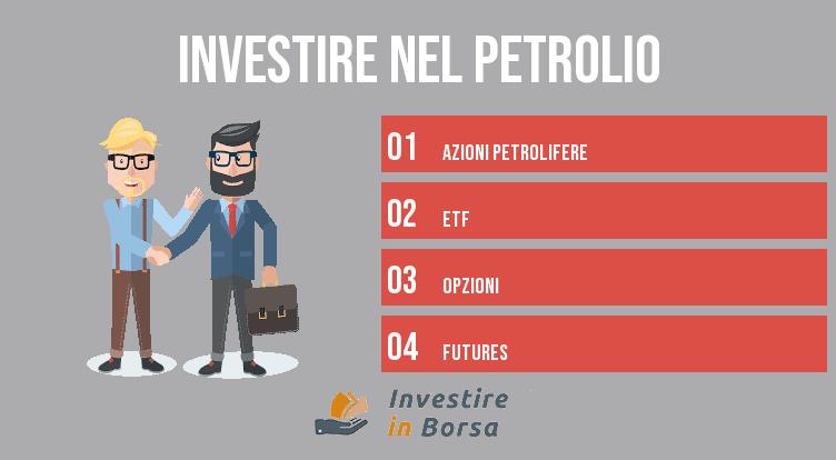come investire nel petrolio