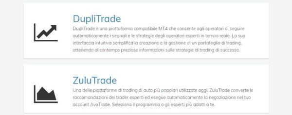 trading automatico AvaTrade