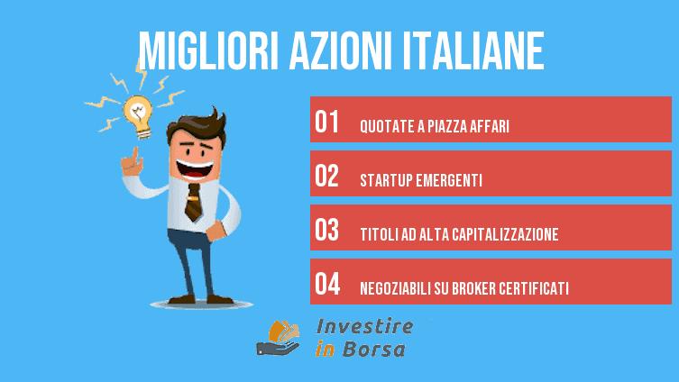migliori azioni italiane