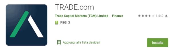 App per investire di Trade.com