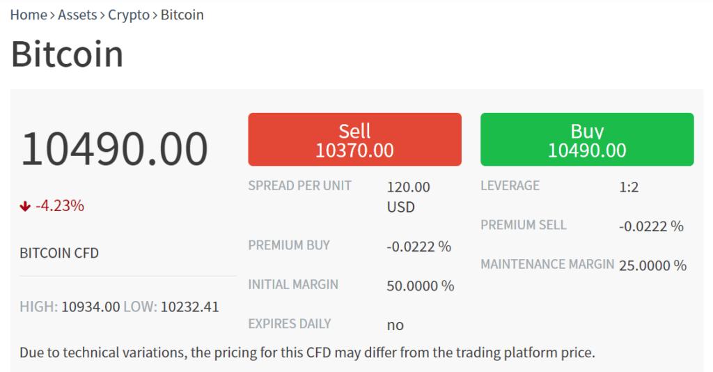 trade per comprare bitcoin