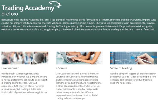 trading academy etoro