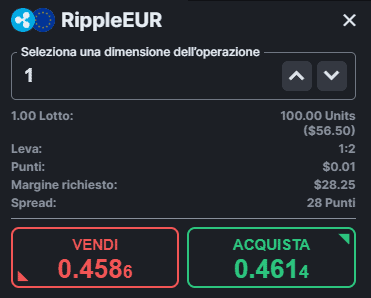 comprare ripple xrp con forextb