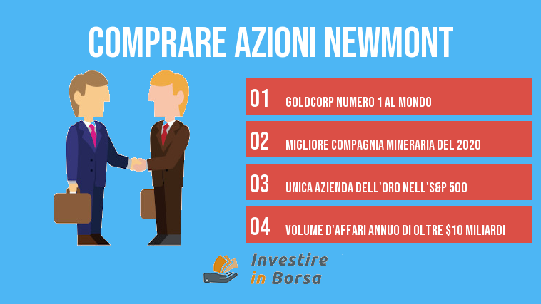 comprare azioni Newmont info