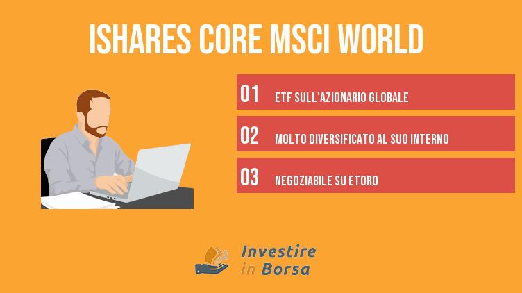 iShares Core MSCI World UCITS ETF