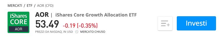 iShare Core Growth Allocation ETF etf