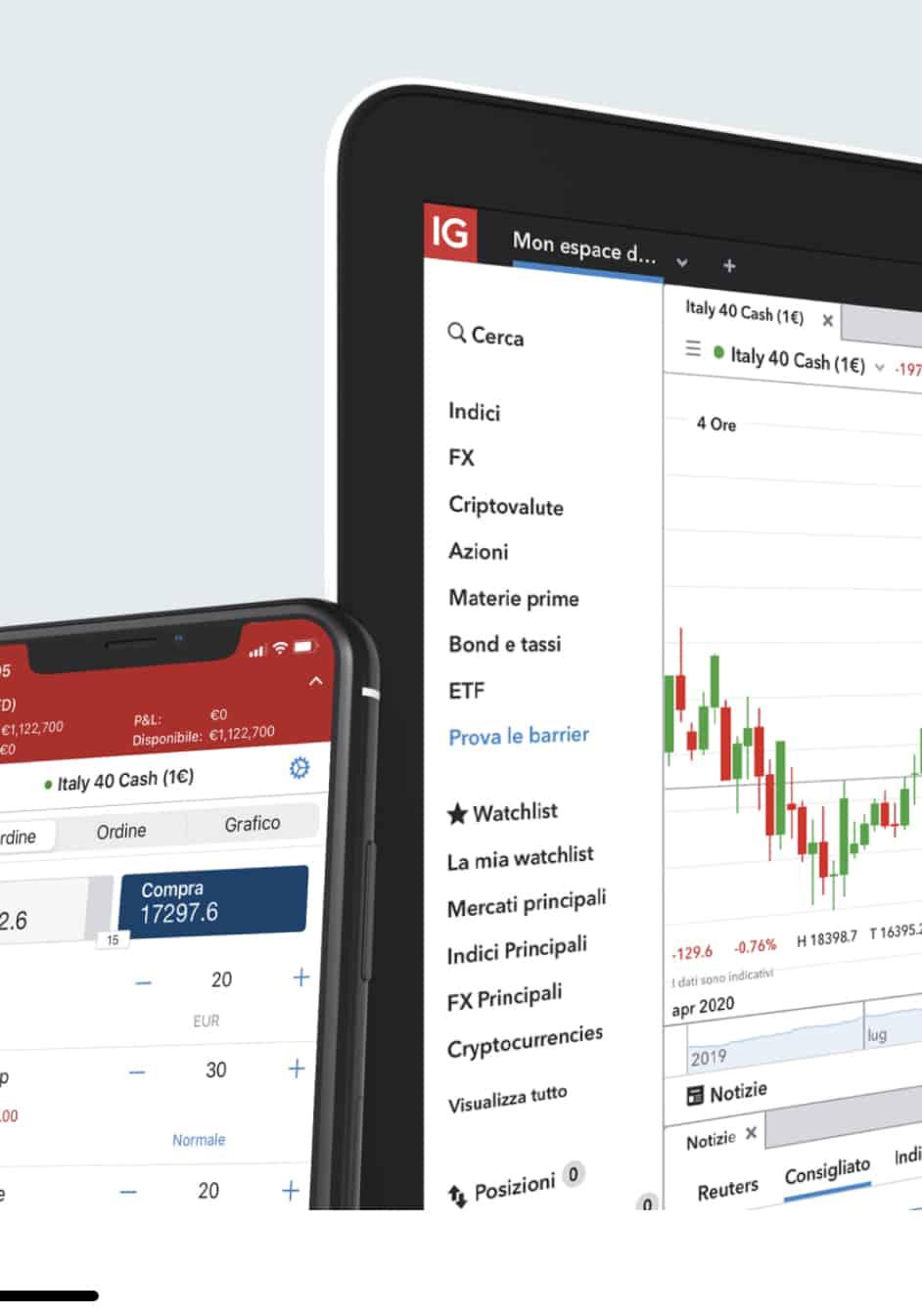 Recensioni ig markets broker