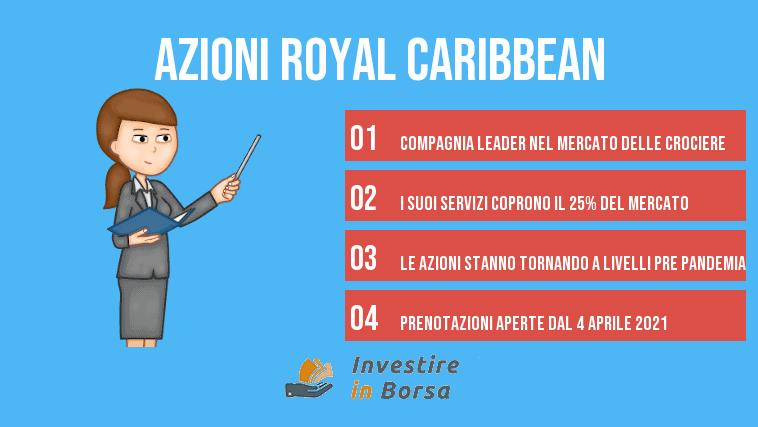 comprare azioni royal caribbean info