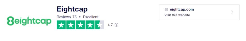 eightcap recensioni