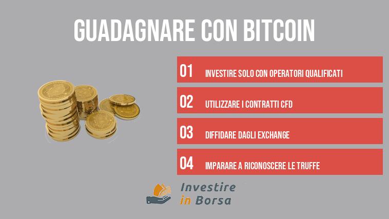 perso soldi investendo in bitcoin