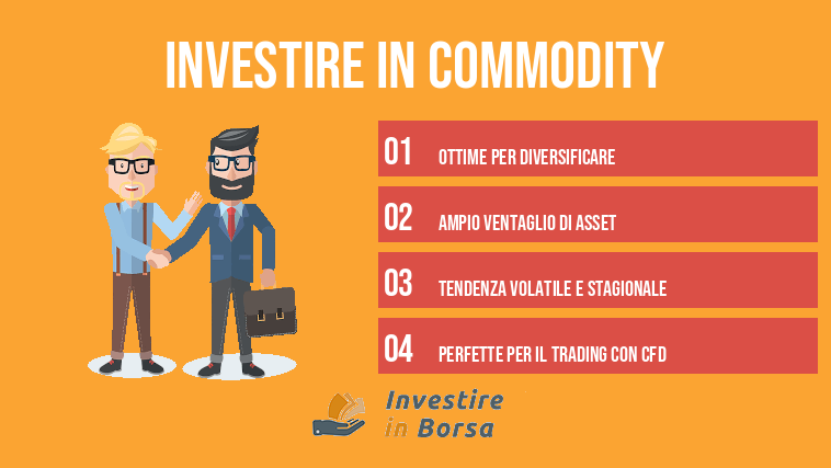 investire in commodity